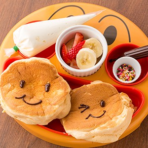 Kids French Toast & Pancake Plate