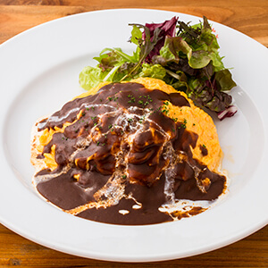 Beef Demi-glace Sauce Omurice
